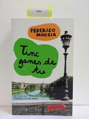 TINC GANES DE TU (CON TU COMPRA COLABORAS CON LA ONG