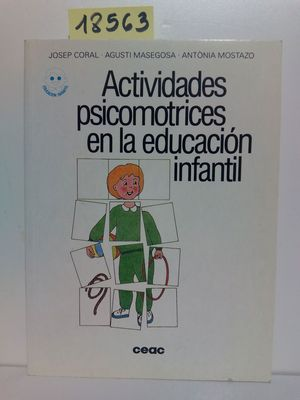 ACTIVIDADES PSICOMOTRICES EN LA EDUCACIÓN INFANTIL