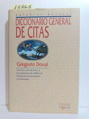 DICCIONARIO GENERAL DE CITAS