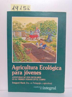 AGRICULTURA ECOLÓGICA PARA JÓVENES