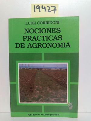 NOCIONES PRÁCTICAS DE AGRONOMÍA