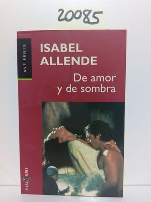 DE AMOR Y DE SOMBRA. BIBLIOTECA DE ISABEL ALLENDE.
