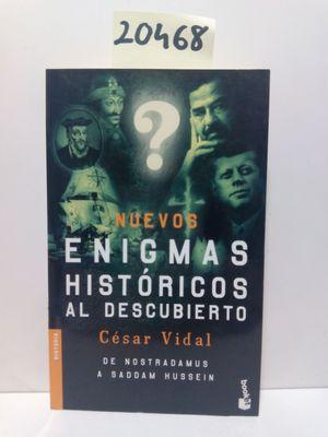 NUEVOS ENIGMAS HISTÓRICOS AL DESCUBIERTO