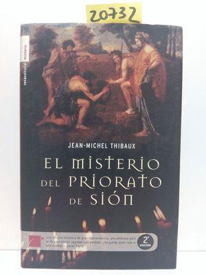 EL MISTERIO DEL PRIORATO DE SIÓN