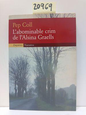 L'ABOMINABLE CRIM DE L'ALSINA GRAELLS