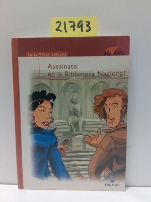 ASESINATO EN LA BIBLIOTECA NACIONAL