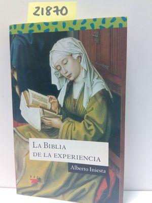 LA BIBLIA DE LA EXPERIENCIA