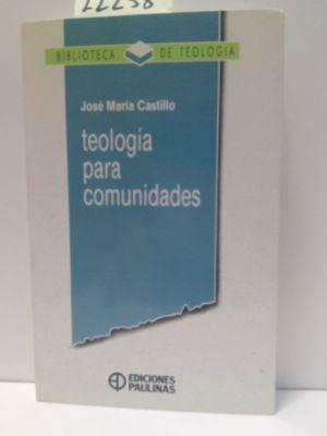 TEOLOGIA PARA COMUNIDADES