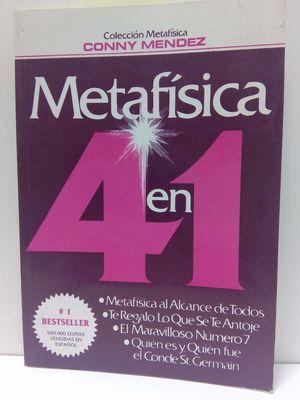 METAFÍSICA 4 EN 1. AL ALCANCE DE TODOS 1
