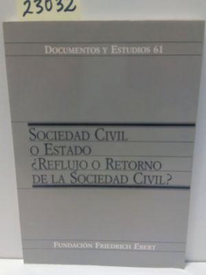 SOCIEDAD CIVIL Y ESTADO