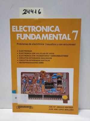 ELECTRONICA FUNDAMENTAL 7