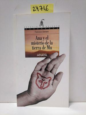 ANA Y EL MISTERIO DE LA TIERRA DE MU