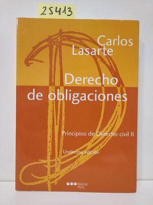 PRINCIPIOS DE DERECHO CIVIL II. DERECHO DE OBLIGACIONES.