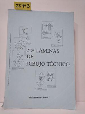 225 LÁMINAS DE DIBUJO TÉCNICO, 2 BACHILLERATO