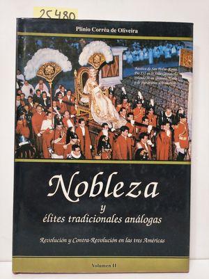 NOBLEZA Y ÉLITES TRADICIONALES ANÁLOGAS.