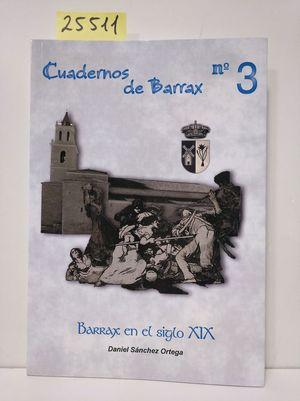 CUADERNOS DE BARRAX