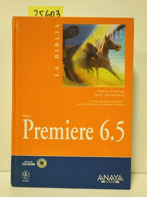 LA BIBLIA DE ADOBE PREMIERRE 6.5