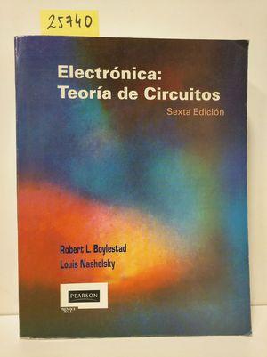 ELECTRONICA: TEORIA DE  CIRCUITOS