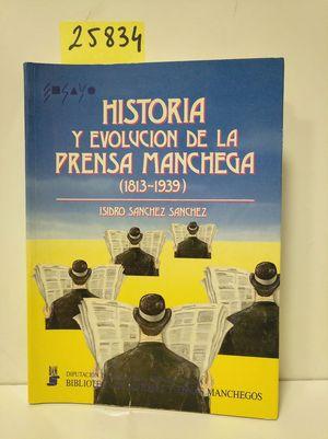 HISTORIA Y EVOLUCIÓN DE LA PRENSA MANCHEGA, (1813-1939)