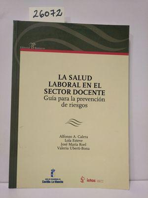 LA SALUD LABORAL EN EL SECTOR DOCENTE