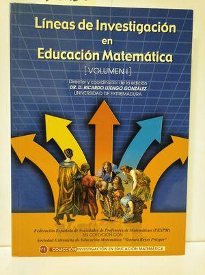 LÍNEAS DE INVESTIGACIÓN EN EDUCACIÓN MATEMÁTICA