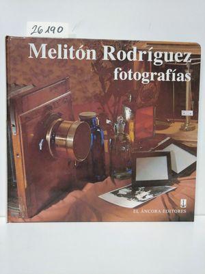 MELITÓN RODRÍGUEZ, FOTOGRAFÍAS
