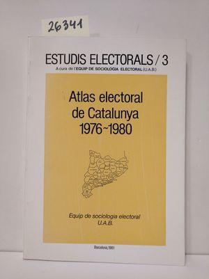 ATLAS ELECTORAL DE CATALUNYA 1976-1980