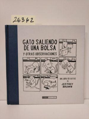 GATO SALIENDO DE UNA BOLSA