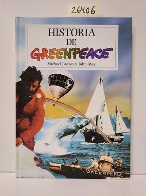 LA HISTORIA DE GREENPEACE