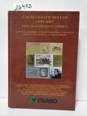 CATÁLOGO DE SELLOS, 1850-2007