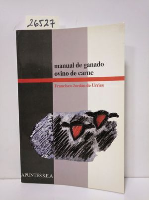 MANUAL DE GANADO OVINO DE CARNE