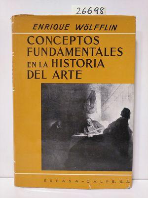CONCEPTOS FUNDAMENTALES EN LA HISTORIA DEL ARTE