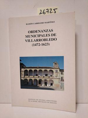 ORDENANZAS MUNICIPALES DE VILLARROBLEDO