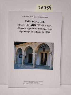 TARAZONA DEL MARQUESADO DE VILLENA