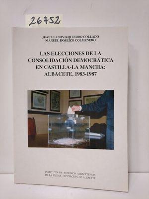 ELECCIONES CONSOLIDACIÓN DEMOCRÁTICA CASTILLA-LA MANCHA: ALBACETE 1983-1987