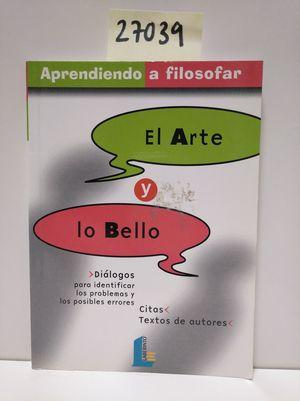 EL ARTE Y LO BELLO