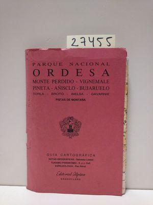 GUÍA CARTOGRÁFICA. PARQUE NACIONAL DE ORDESA
