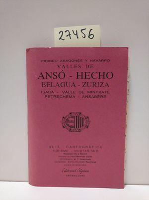VALLES DE ANSÓ-HECHO. GUÍA CARTOGRÁFICA