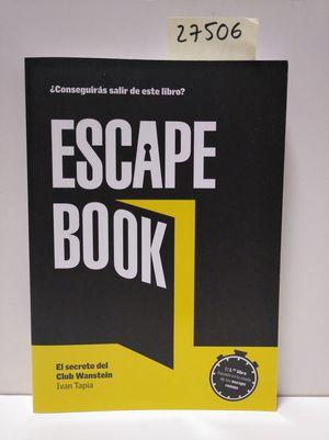 ESCAPE BOOK (INCLUYE JUEGO DE CARTAS PRECINTADO)