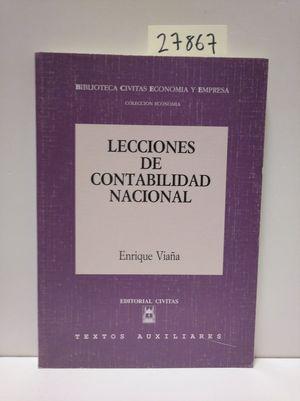 LECCIONES DE CONTABILIDAD NACIONAL