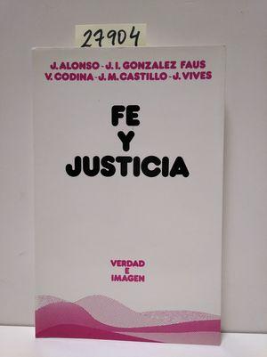 FE Y JUSTICIA
