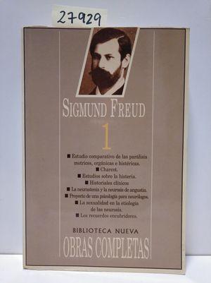 FREUD - OBRAS COMPLETAS (I) (EDICIÓN EN RÚSTICA)