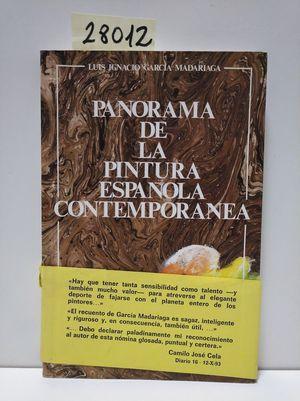 PANORAMA DE LA PINTURA ESPAÑOLA CONTEMPORÁNEA