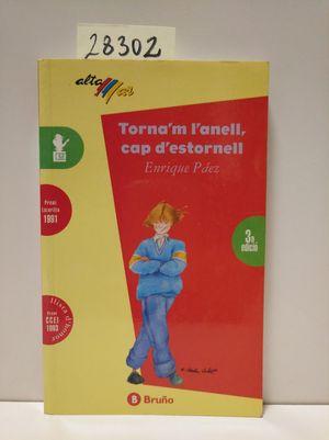 TORNA'M L'ANELL, CAP D'ESTORNELL