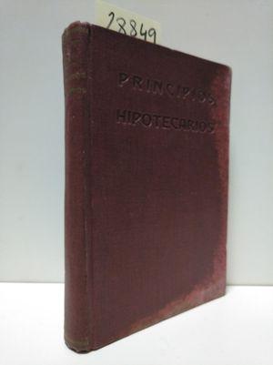 PRINCIPIOS HIPOTECARIOS