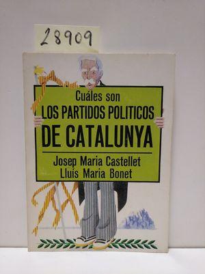 CUÁLES SON LOS PARTIDOS POLÍTICOS DE CATALUNYA