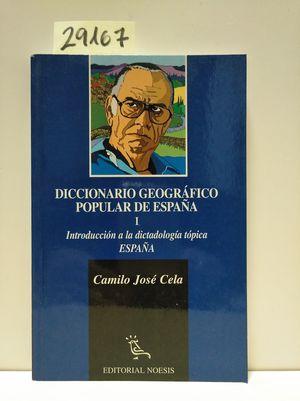DICCIONARIO GEOGRÁFICO POPULAR DE ESPAÑA