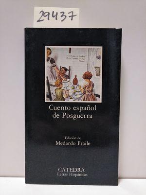 CUENTO ESPAÑOL DE POSGUERRA