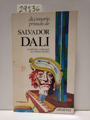 DICCIONARIO PRIVADO DE SALVADOR DALÍ
