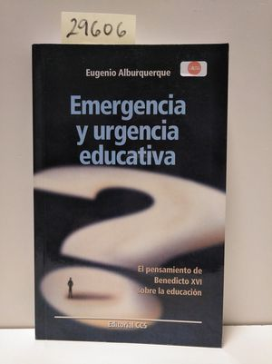 EMERGENCIA Y URGENCIA EDUCATIVA